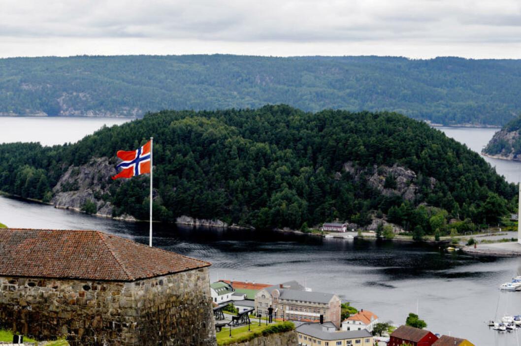 <strong>FREDRIKSTEN FESTNING:</strong> Halden-festningen er en viktig del av Norges historie. Frister med museer og utstillinger, festningsløype, spøkelsesløype for barn og gode spisesteder. Foto: JOHN TERJE PEDERSEN