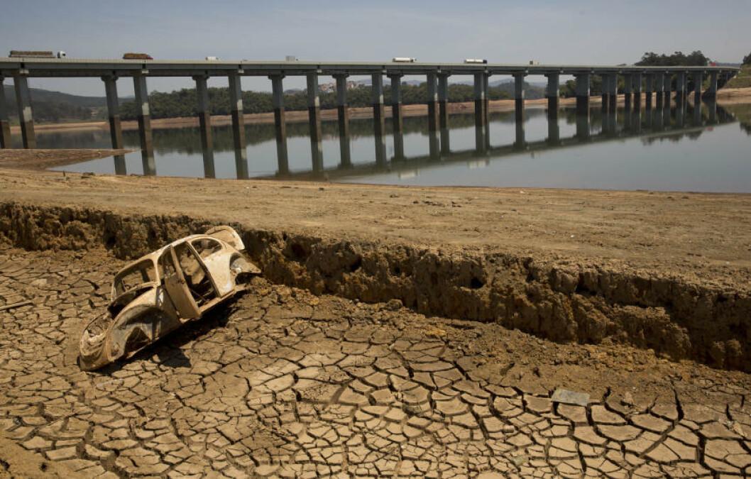 <strong>TØRKE:</strong> Brasil opplever tørke og myndighetene uttrykker bekymring. Tørken omtales som den verste i landet på 80 år. Foto: AP Photo/Andre Penner,