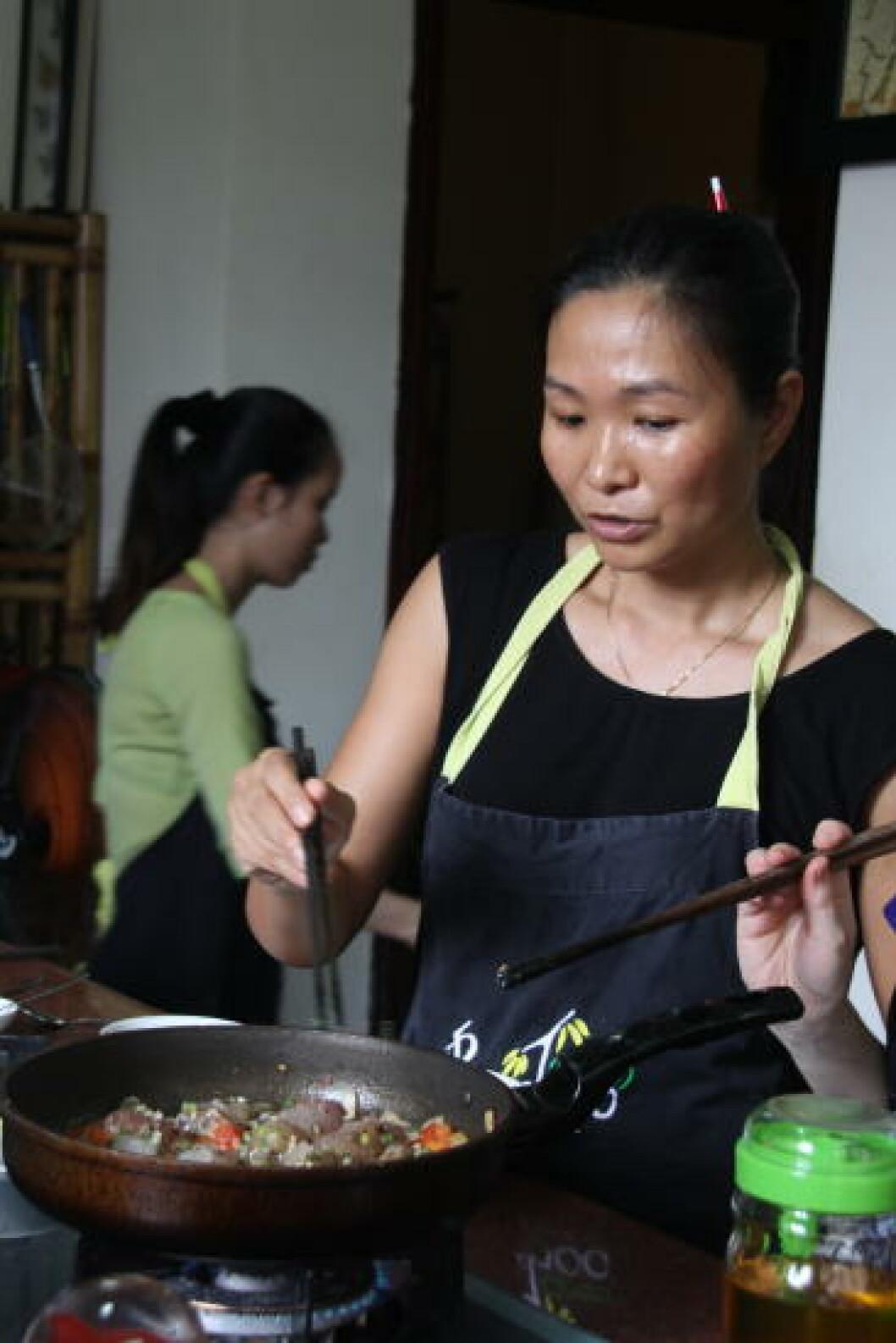 HOI AN: Dette er kjent som landets kulinariske sentrum, og er hjem til et titalls kokkeskoler. Foto: KJERSTI VANGERUD