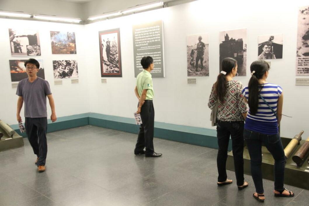 HO CHI MINH: Sporene fra krigen som herjet i landet fra midten av 1950-tallet til 1975 er fortsatt synlige, men ingen steder er den meningsløse brutaliteten så tydelig som på War Remnants Museum i Ho Chi Minh (Saigon). Foto: RUNAR LARSEN