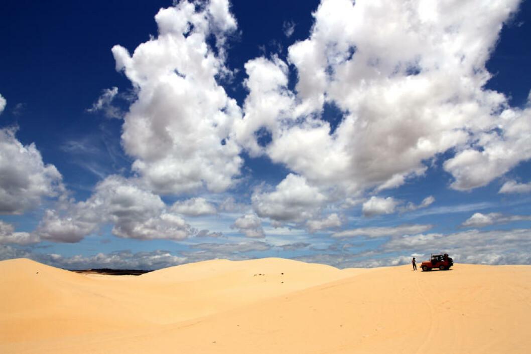 MUI NE: Med stabilt gode vindforhold for kitere og vindsurfere er strandbyen Mui Ne et eldorado for aktiviteter på vannet. Foto: RUNAR LARSEN