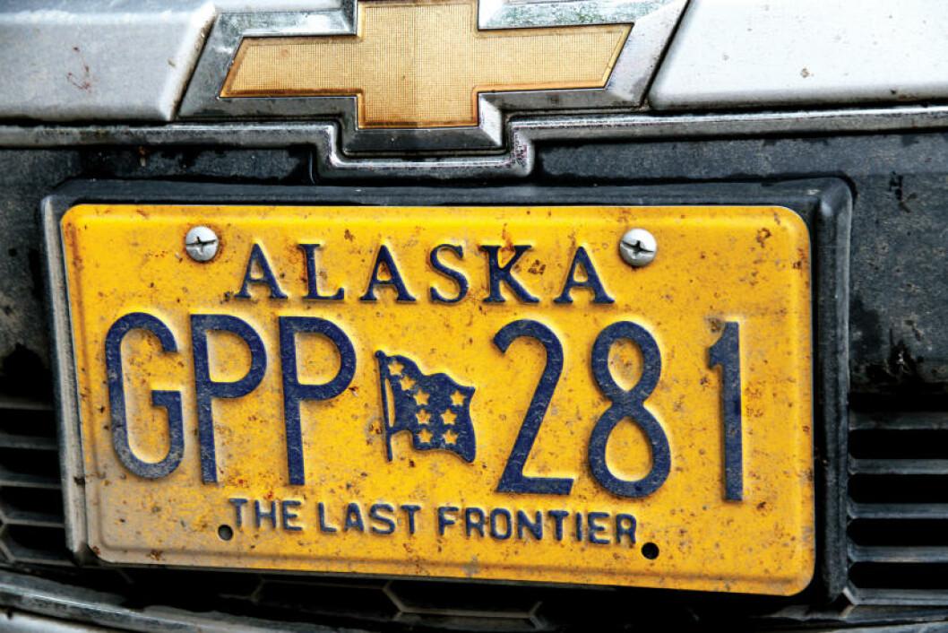 <strong>SISTE UTPOST:</strong> Alaska ble den 49. delstaten - tett fulgt av Hawaii, og omtales som The Last Frontier. Foto: RUNAR LARSEN