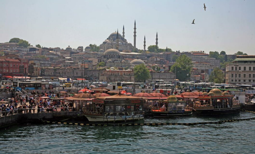 3. ISTANBUL, TYRKIA Foto: EIVIND PEDERSEN