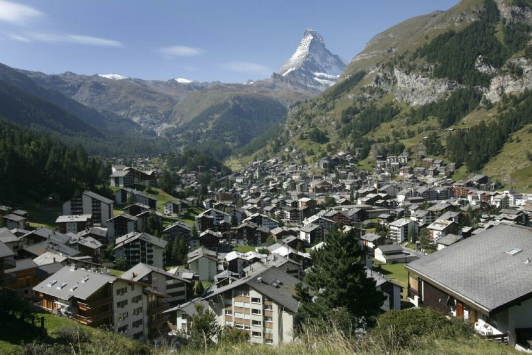 12. ZERMATT, SVEITS  Foto: DENIS BALIBOUSE / REUTERS / NTB SCANPIX