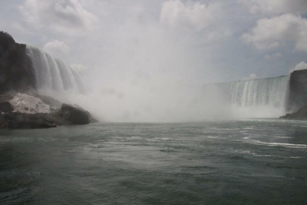 <strong>HIMMELSK:</strong> En reise til Niagarafallene er en sakral opplevelse. Foto: SOLVEIG BÅDSVIK