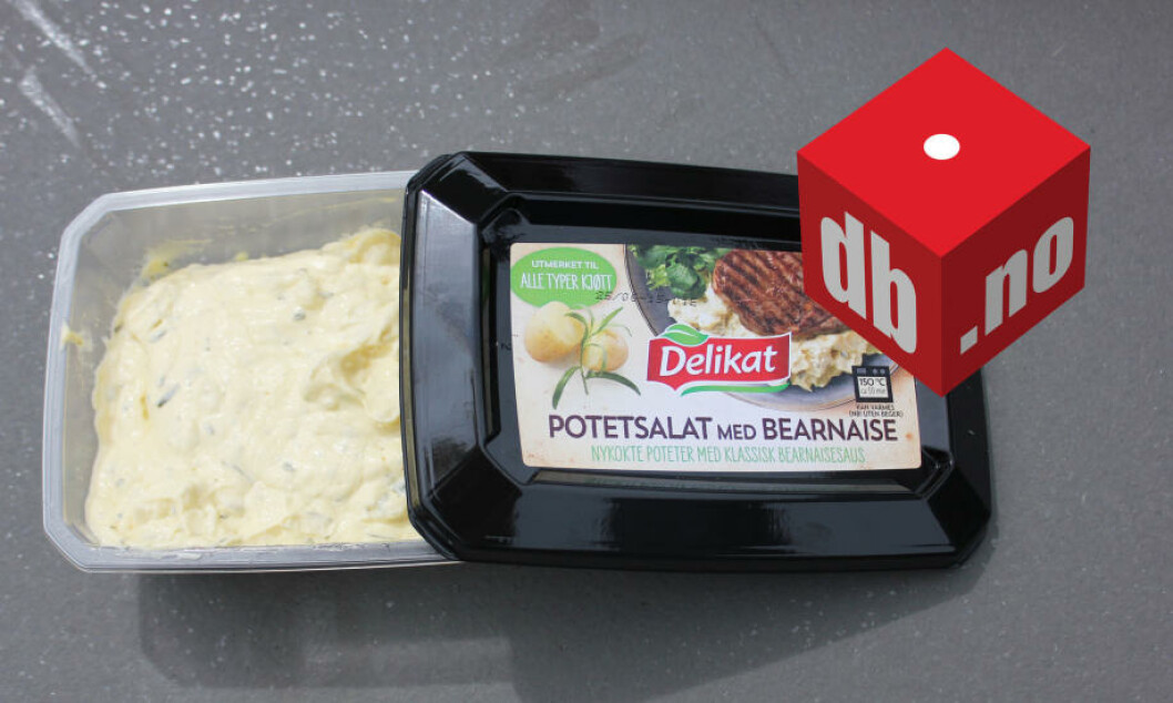 <strong>SMØR:</strong> Potetsalat med bearnaise druknet i smørsmak. Foto: ELISABETH DALSEG