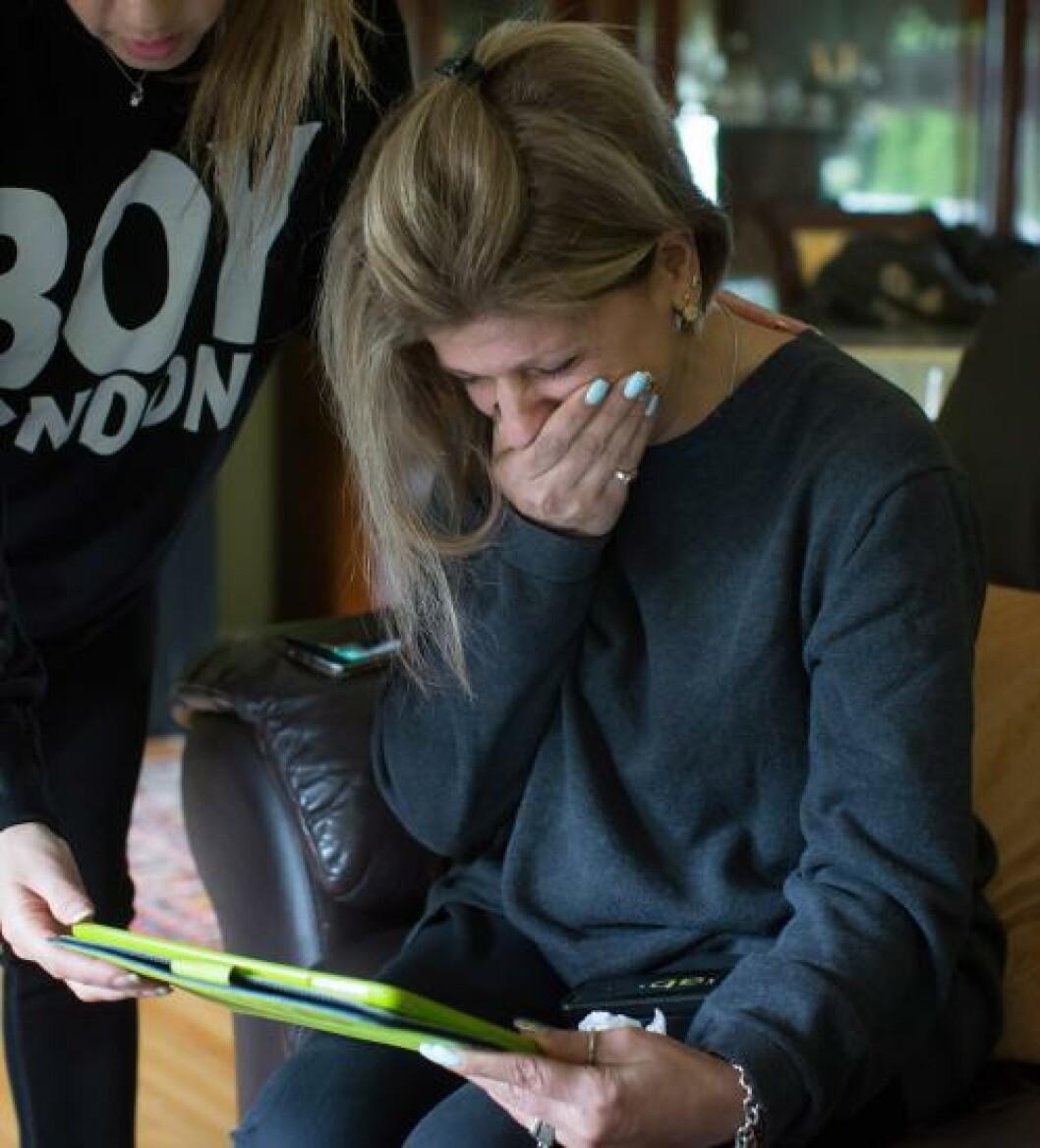 <strong>I SORG:</strong> Guttenes tante har mistet to nevøer og sin svigerinne. Foto: REUTERS/Ben Nelms/NTB Scanpix