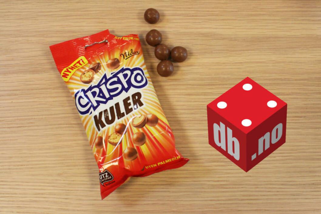 NIDAR: CRISPO: Best likt blant dem som var i utgangspunktet var minst begeistret for Crispo-sjokoladen. Foto: MERETHE HOMMELSGÅRD