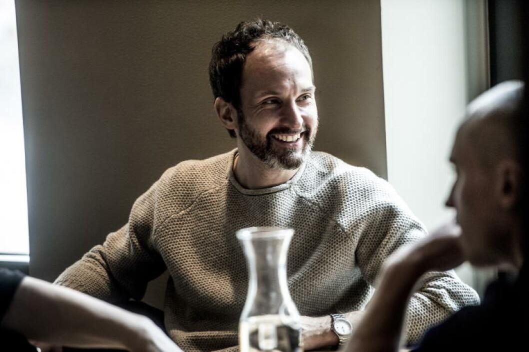 <strong>REGISSØREN:</strong> Erik Richter Strand, er hovedmanusforfatter og regissør, kjent bl.a. fra «Okkupert», «Sønner», «Varg Veum».