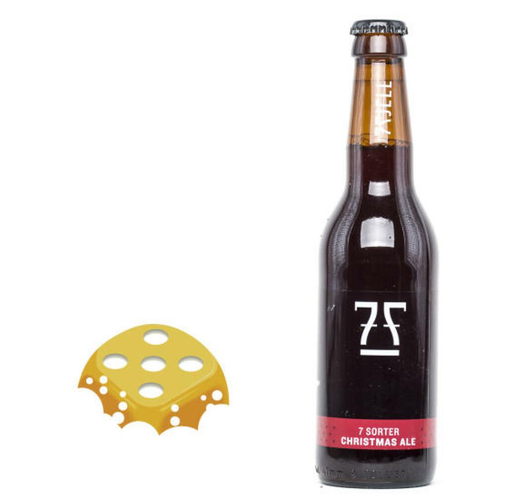 7 fjell, 7 sorter Christmas Ale. Server til julefrokost eller koldtbord.