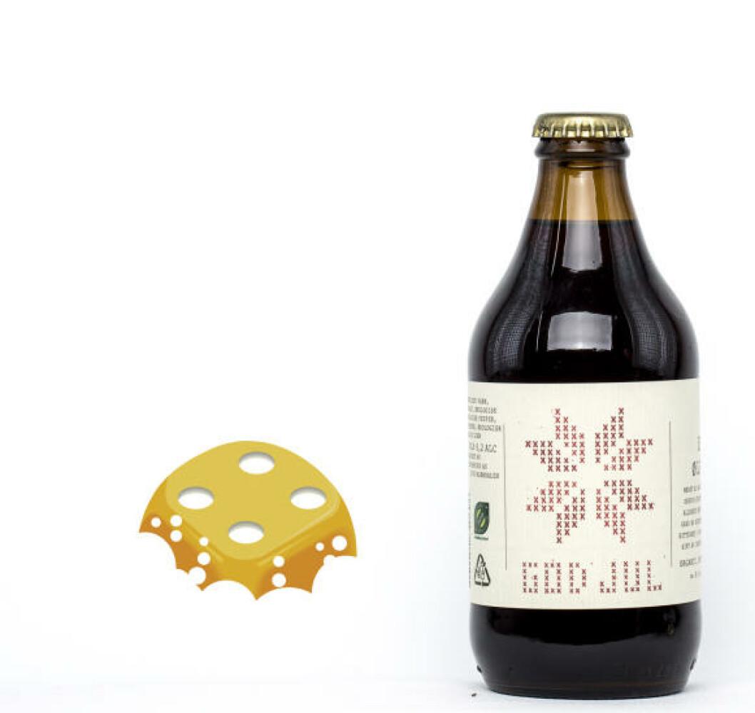 Eiker Ølfabrikk God jul, 0,33 l flaske, 6,20 %. Fantastisk aroma, men faller litt på smak.