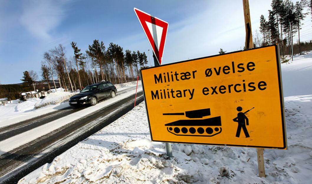 Øvelse Cold Respons har satt sitt preg i nord denne uken. Omlag 7500 soldater fra 14 nasjoner deltar på øvelsen til sjøs, på land og i lufta. Foto: Lars Magne Hovtun/Forsvaret