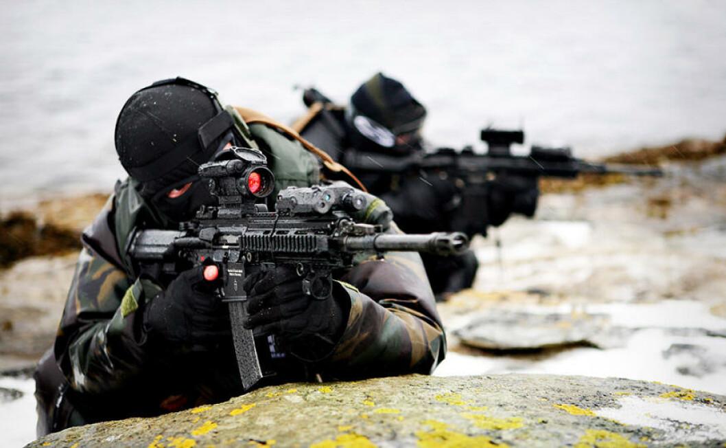 Omlag 700 spesialstyrker fra en rekke land deltar på den store øvelsen. Foto: Vegard Grøtt/Forsvaret