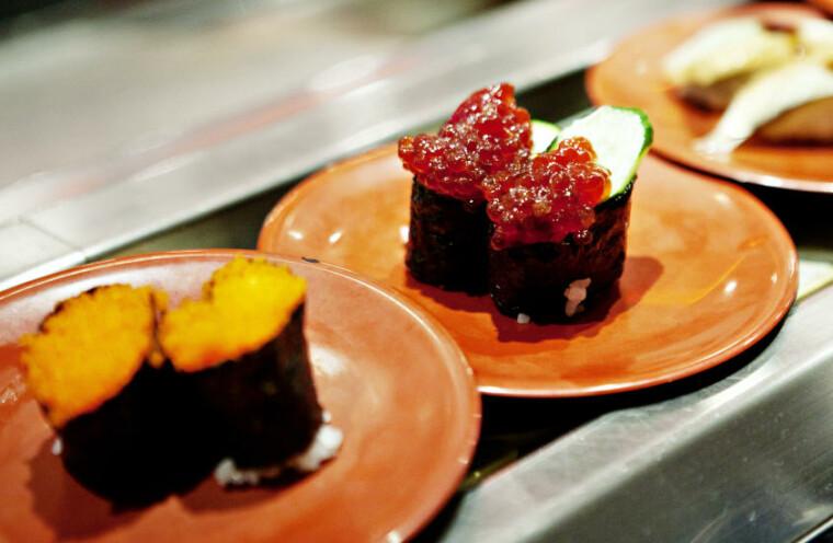 naken japansk mat